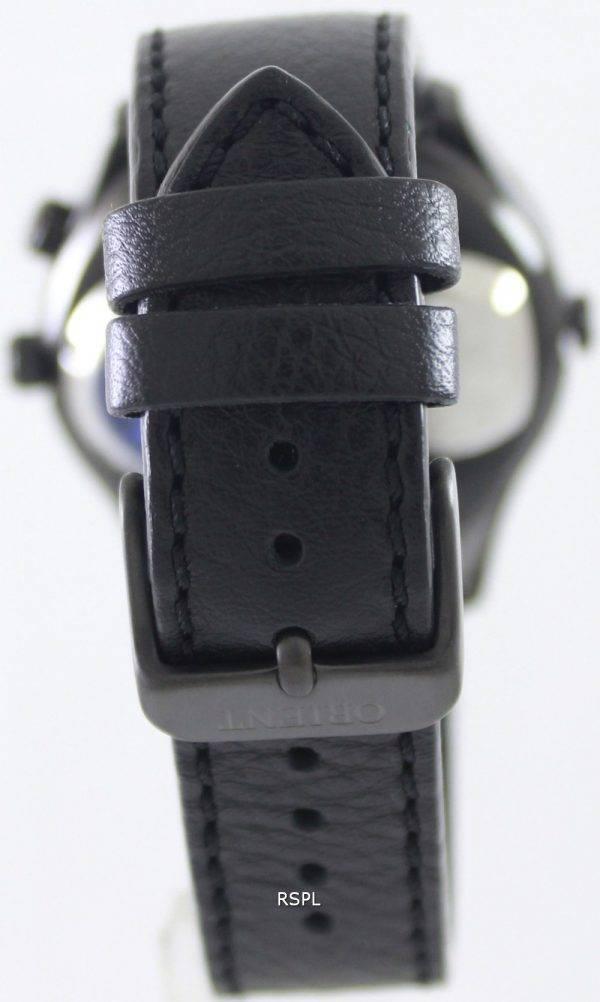Orienter la montre double FXC00002B automatique hommes cadran