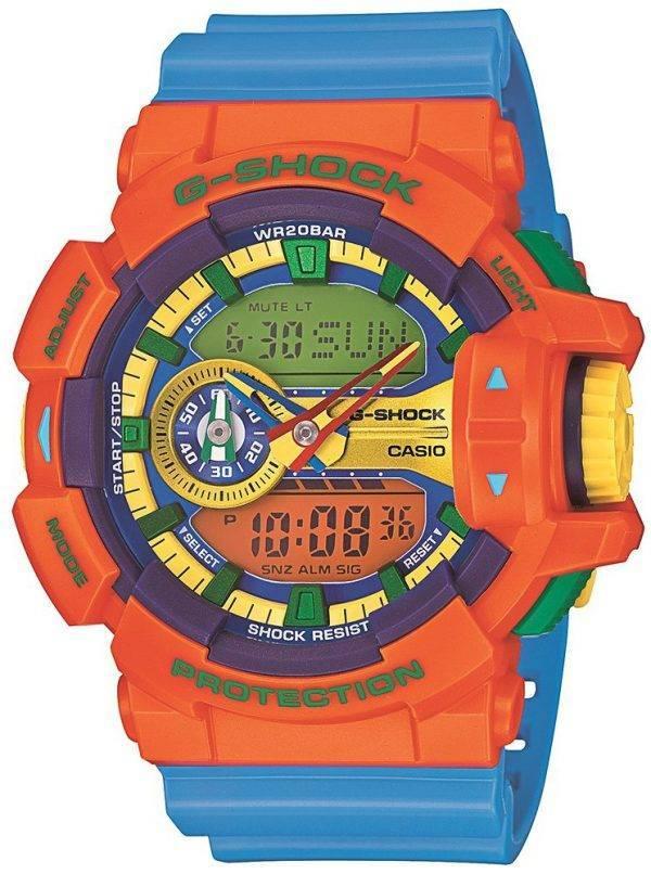 Casio G-Shock Analog-Digital Multi-Color 200 M GA-400-4 a montre homme