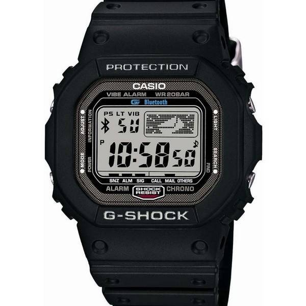 montre casio g shock bluetooth v4 0 gb 5600b 1jf masculine france. Black Bedroom Furniture Sets. Home Design Ideas