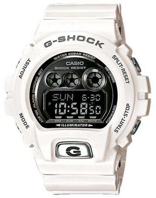 Casio G-Shock Digital Multi Function Quartz White GD-X6900FB-7 Mens Watch