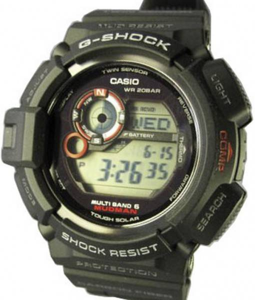 montre casio g shock mudman. Black Bedroom Furniture Sets. Home Design Ideas
