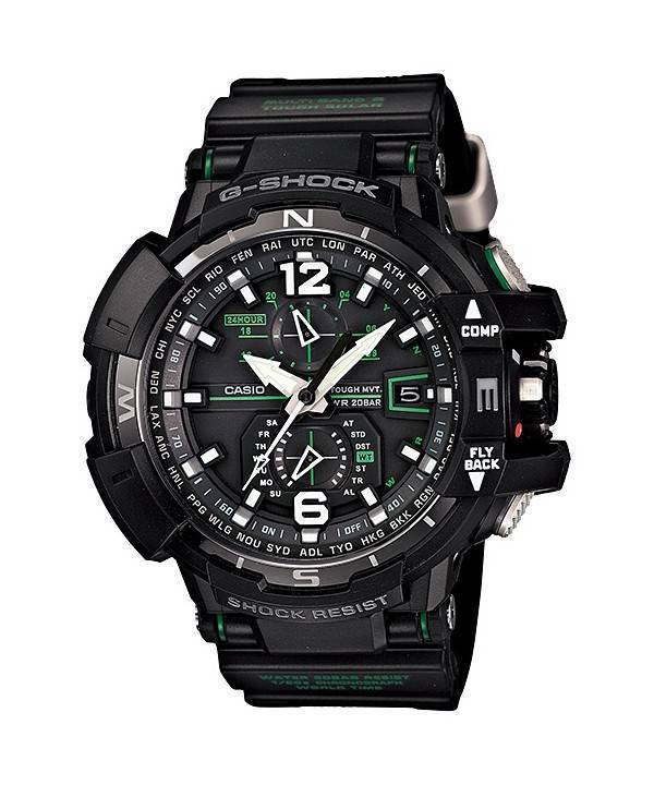 Casio G-Shock Gravity Defier Atomic GW-A1100-1A3 Mens Watch