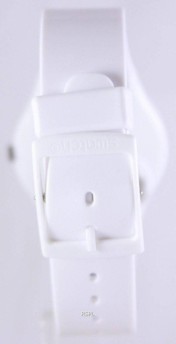 Swatch origine Just White Quartz suisse GW151 unisexe