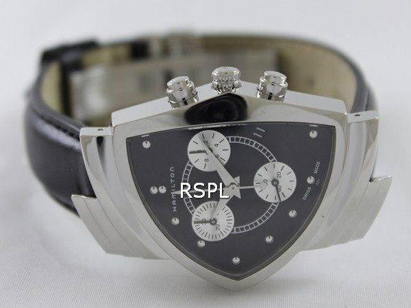 Hamilton Ventura Chrono Quartz H24412732 Mens Watch