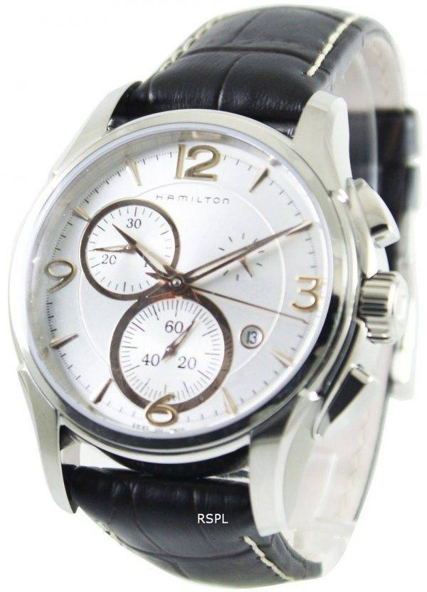 Montre Hamilton Jazzmaster Quartz chronographe H32612555 masculin