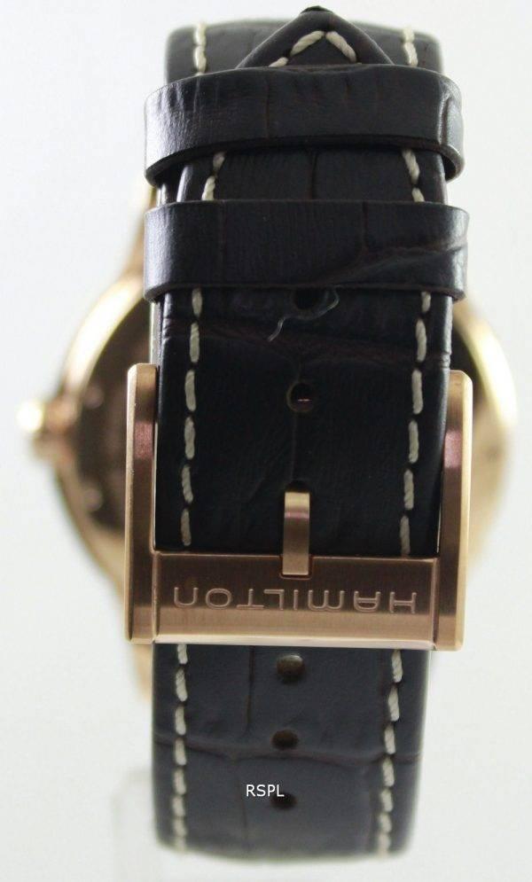 Montre Hamilton automatique hommes H32645555 masculin