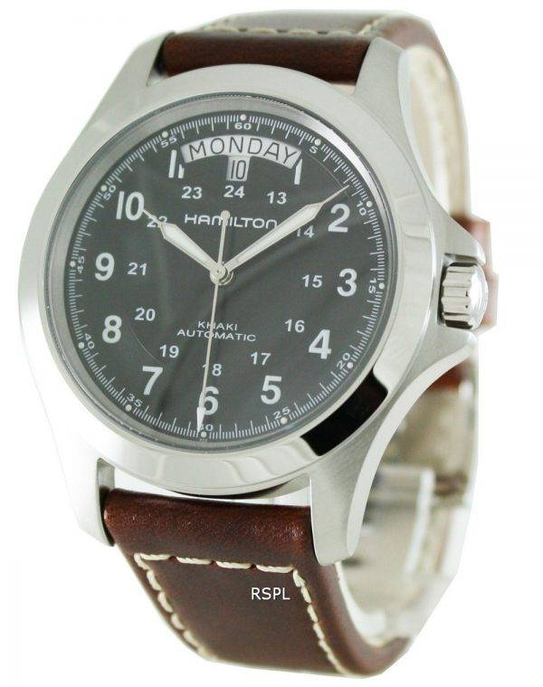 Montre Hamilton Khaki King Automatic H64455533 masculin