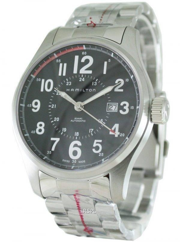 Hamilton Khaki Field Officer automatique H70615133 Mens Watch