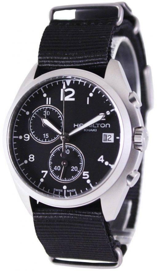 Hamilton Khaki Aviation Pilot Pioneer Chronograph H76552433 Mens Watch