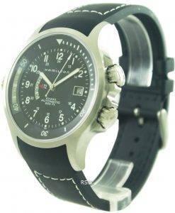 Hamilton Khaki automatique Navy GMT H77615333 montre homme