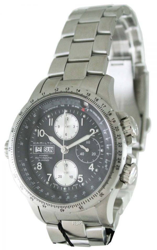 Hamilton Khaki X-Wind Automatic Chronograph H77616133 Mens Watch