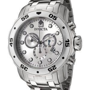 Montre Invicta Pro Diver Quartz chronographe cadran argenté INV0071/0071 homme