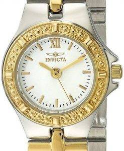 Montre Invicta Wildflower Collection deux ton 0136 féminin