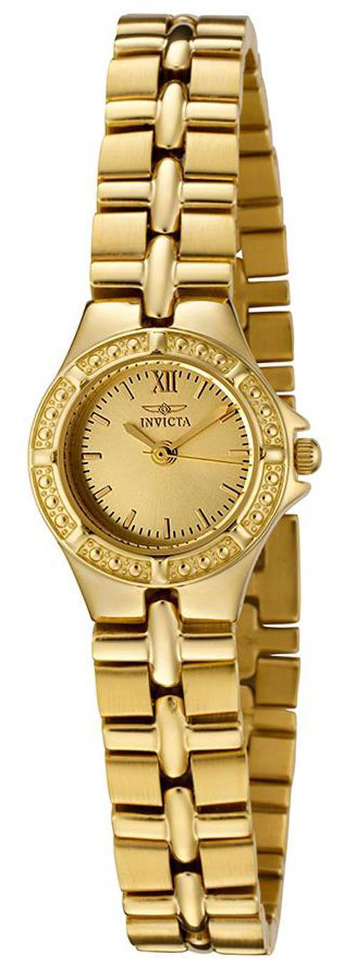 Montre Invicta Wildflower Collection Gold Tone 0137 féminin