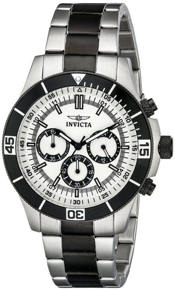 Montre Invicta spécialité chronographe 100M 12843 hommes