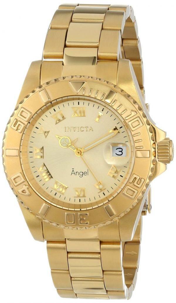 Montre Invicta ange couleur or 200M 14321 féminin