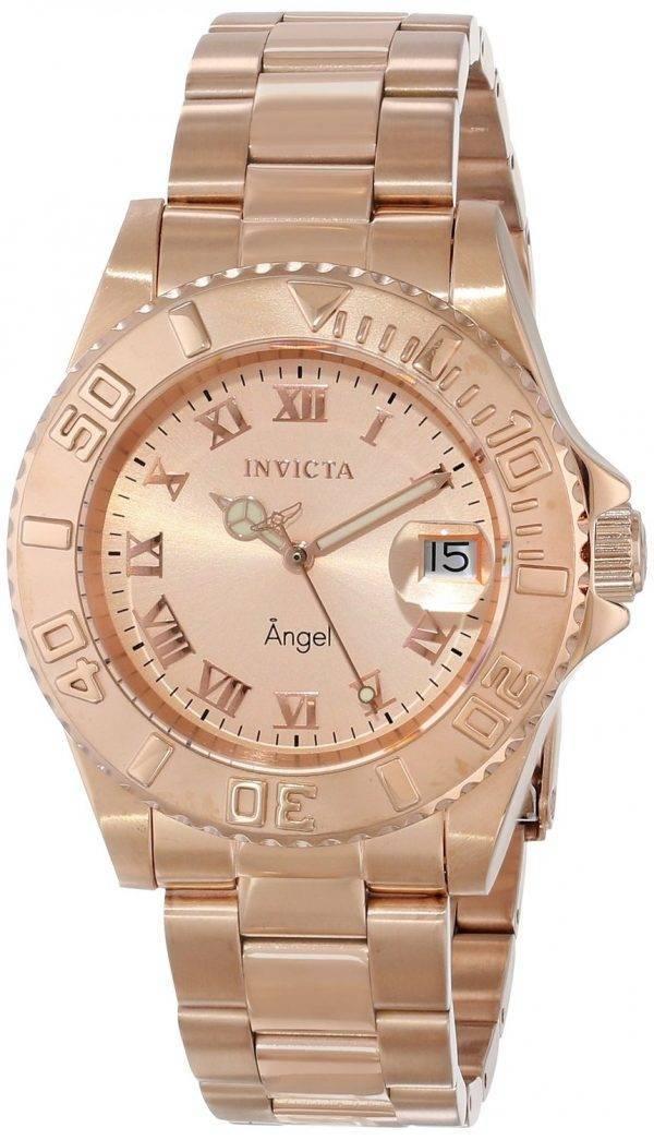 Montre Invicta ange couleur or Rose 200M 14322 féminin