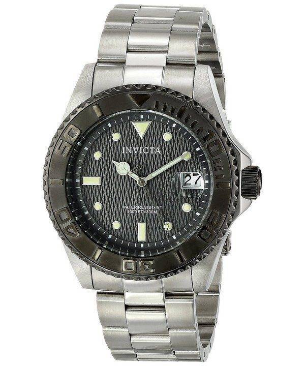 Invicta Pro Diver 300M Automatic Grey Dial INV14758/14758 Mens Watch
