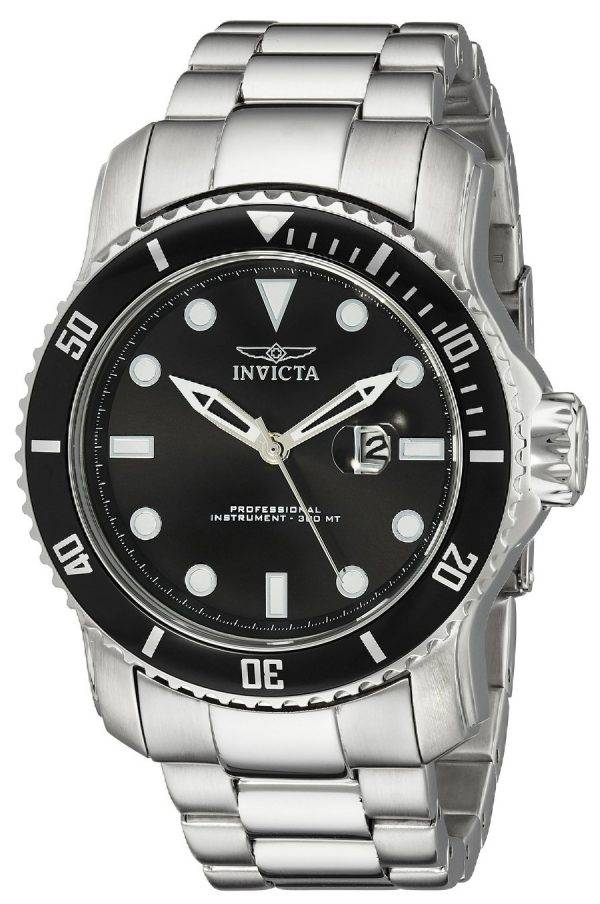 Montre Invicta Pro Diver hommes cadran noir 300M 15075