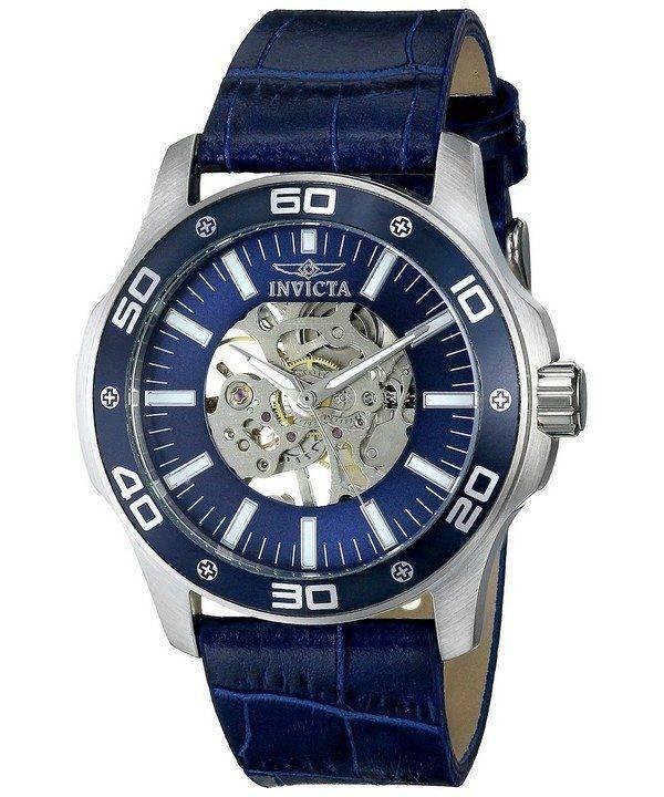 Montre Invicta spécialité cadran squelette bleu INV17259/17259 masculin