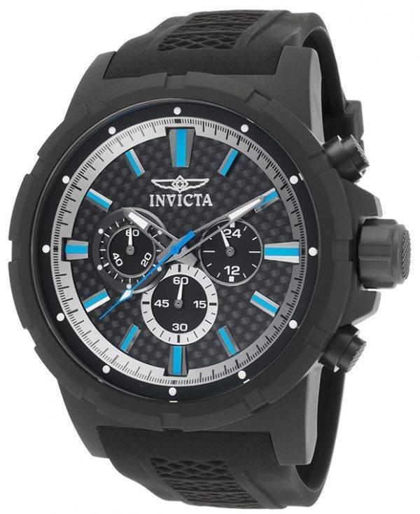 Montre Invicta TI-22 titane chronographe hommes cadran noir 20451