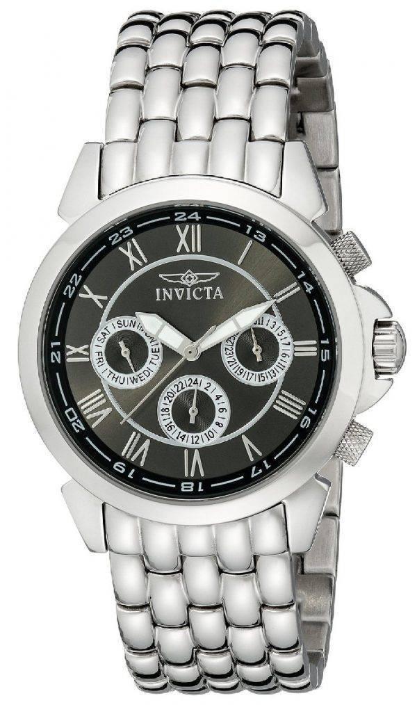 Montre Invicta spécialité Collection multifonctions cadran gris 2877 hommes