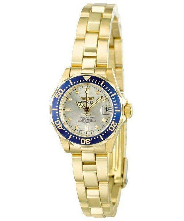 Invicta Pro Diver Gold Plated 4610 Womens Watch