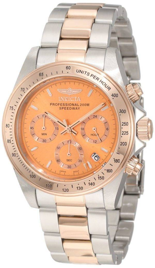 Invicta Professional 200M Speedway Chronographe Or Rose ton 6933 montre homme