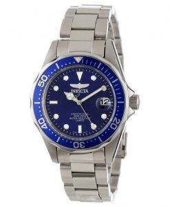 Montre Invicta Pro Diver 200M Quartz cadran bleu INV9204/9204 homme