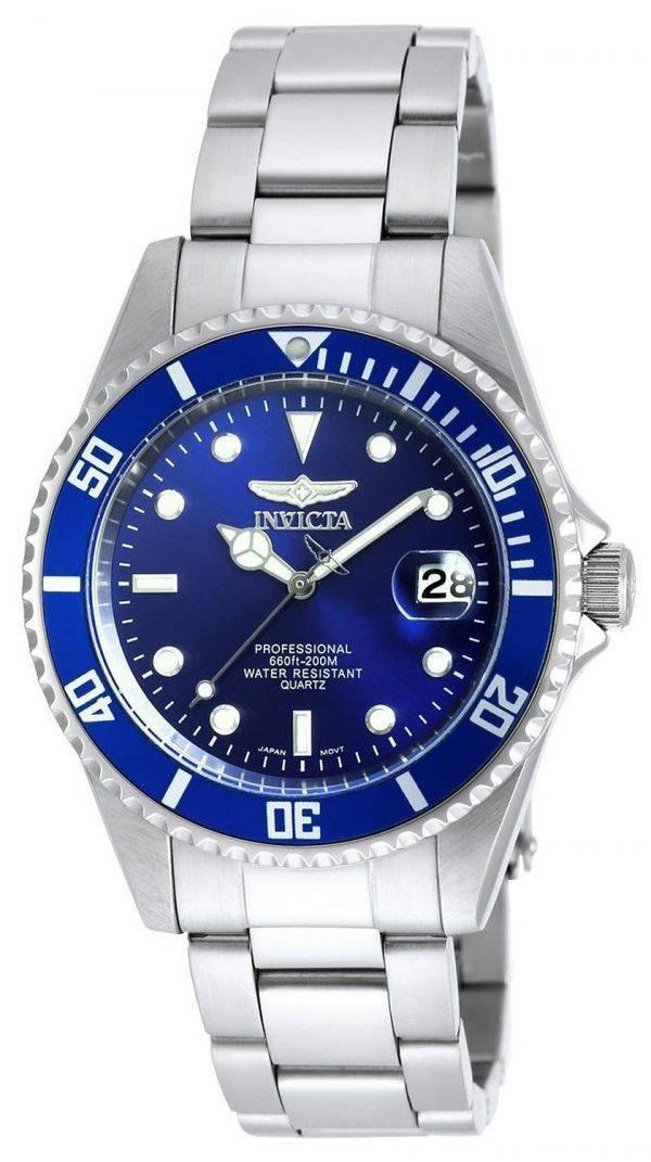 Invicta Mako Pro Diver cadran bleu 200M 9204OB montre homme