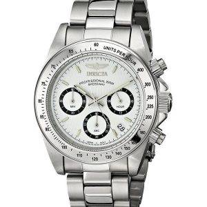 Invicta Speedway 200M chronographe cadran blanc INV9211/9211 montre homme