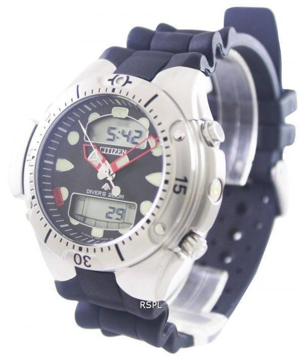 Citizen Aqualand plongeur profondeur mètre Promaster JP1060-01F JP1060
