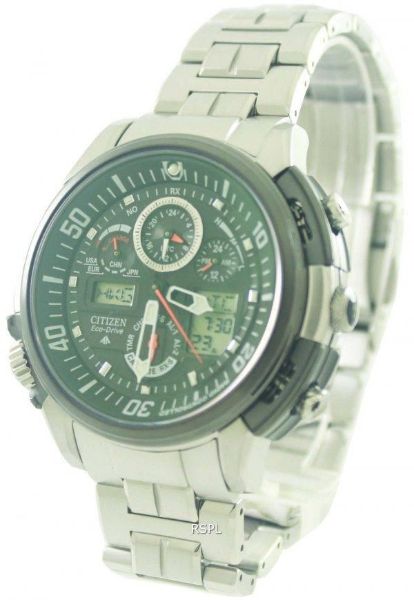 Citizen Promaster Skyhawk EcoDrive Titanium Radio Watch JY8000-50E