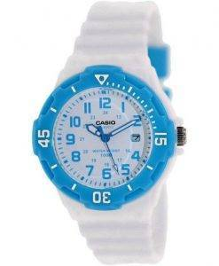 Casio analogique cadran blanc LRW-200H-2BVDF LRW-200H-2BV Women Watch