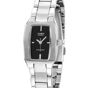 Casio Enticer analogique cadran noir LTP-1165A-1CDF LTP-1165A - 1C Women Watch