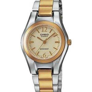 Casio Enticer Quartz analogique cadran or LTP-1253SG-9ADF LTP-1253SG-9 a Women Watch