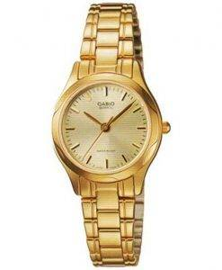Analogique Casio Quartz doré LTP-1275G-9ADF LTP-1275G-9 a Women Watch Dial