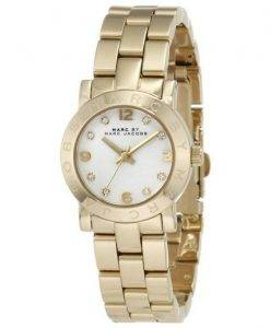 Marc By Marc Jacobs Mini Amy White Dial Watch MBM3057 féminin