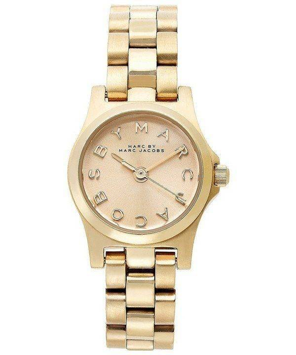 Montre Marc By Marc Jacobs Henry Dinky cadran Champagne MBM3199 féminin