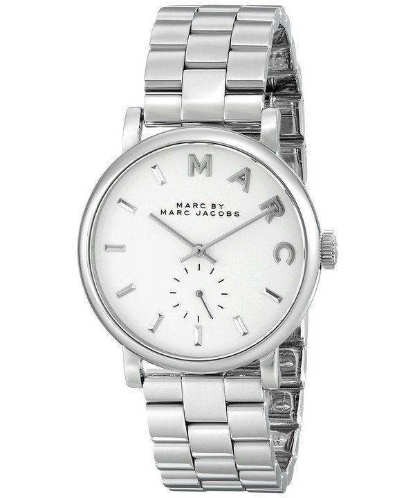 Marc By Marc Jacobs Baker White Dial MBM3242 Womens Watch