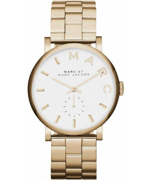 Marc By Marc Jacobs Baker White Dial MBM3243 Womens Watch