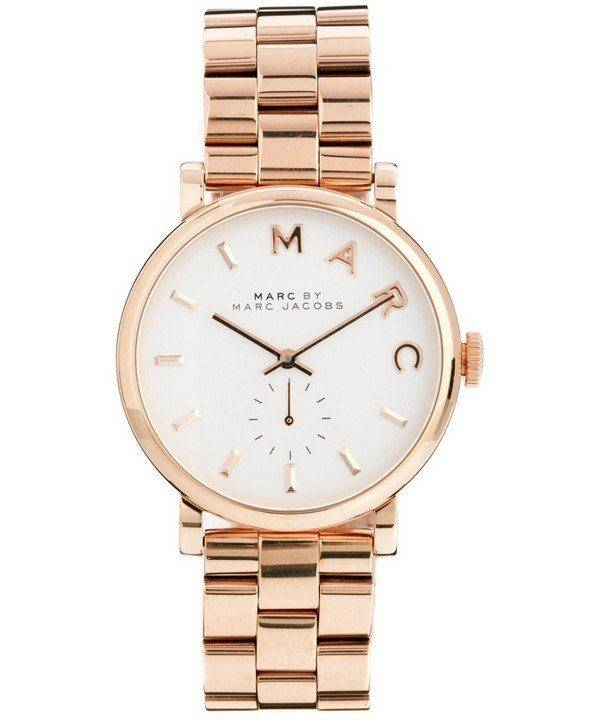Marc By Marc Jacobs Baker White Dial MBM3244 Womens Watch