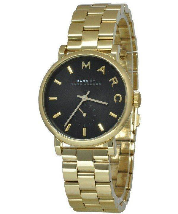 Marc By Marc Jacobs Baker Black Dial MBM3355 Womens Watch