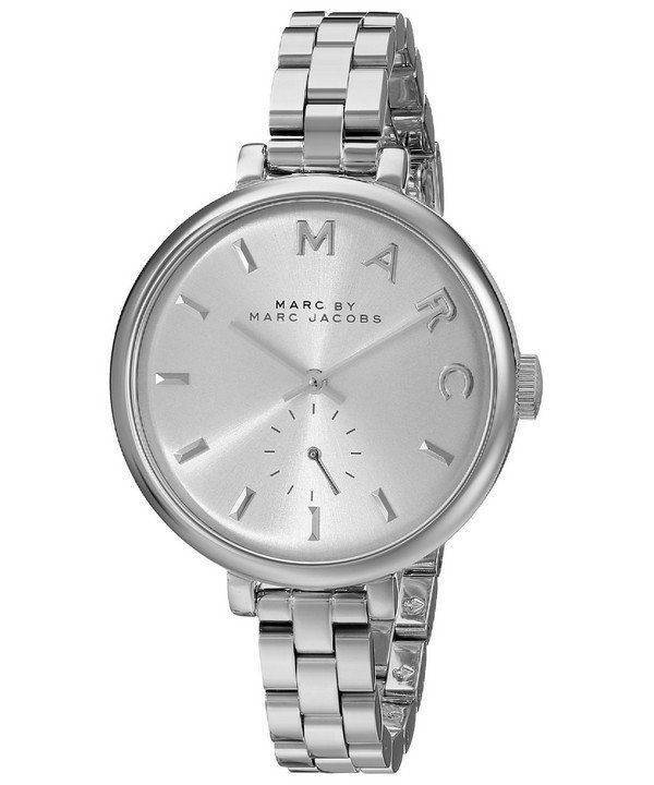 Marc By Marc Jacobs Sally Silver Dial Stainless Steel MBM3362 Womens Watch