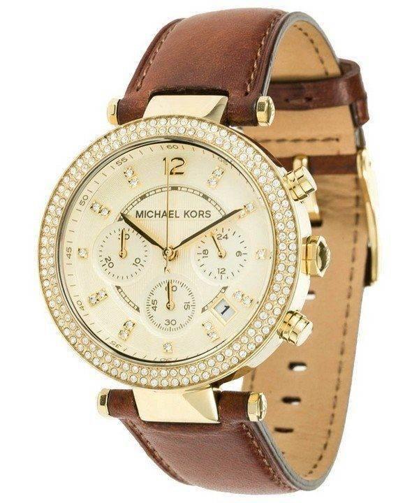 Michael Kors Chronograph Crystal MK2249 Womens Watch