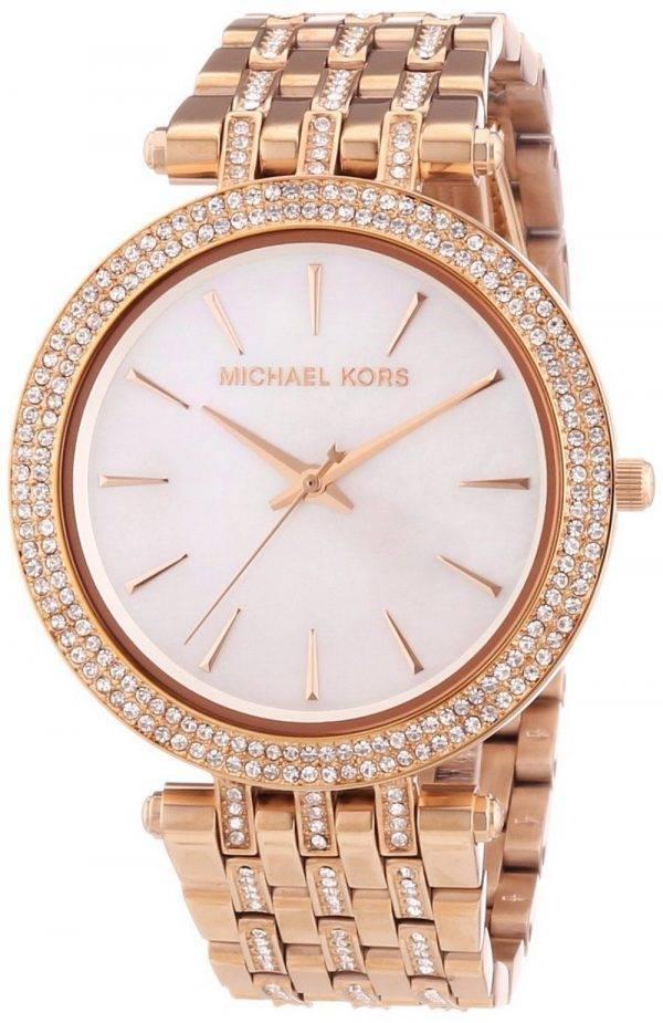 Michael Kors Darci Glitz Crystals MK3220 Womens Watch