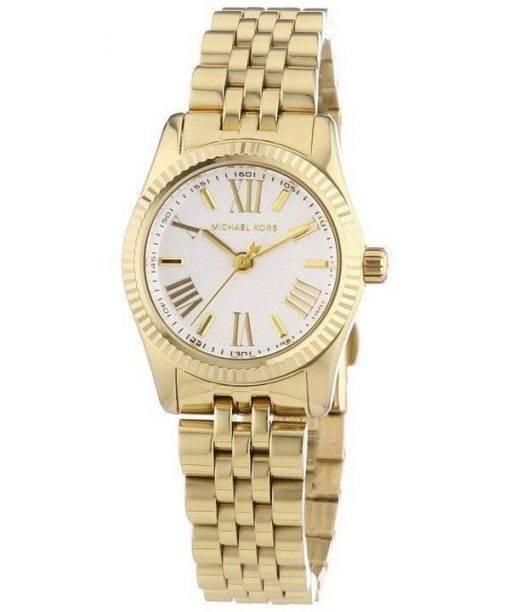 Michael Kors Lexington Gold-Tone Silver Dial MK3229 Womens Watch