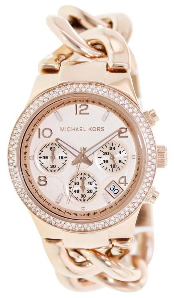 Michael Kors Twist Chain Chronograph MK3247 Womens Watch