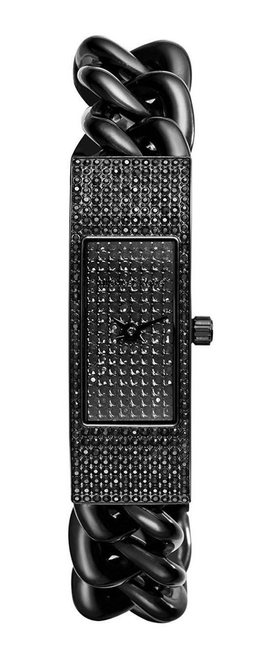 Michael Kors Hayden noir cristal Pave MK3308 Women Watch Dial