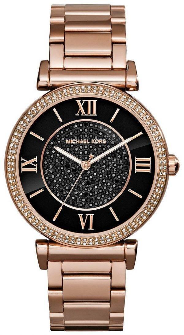 Michael Kors Catlin Crystal Pave Dial MK3356 Womens Watch